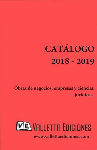Catalogo Valletta Ediciones - 2018-2019