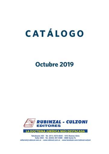 Rubinzal-Culzoni Catálogo 2019