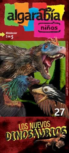 Algarabía Niños 27. Los nuevos dinosaurios