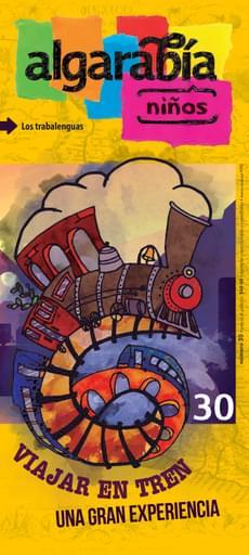 Algarabía Niños 30. Viajar en tren, una gran experiencia