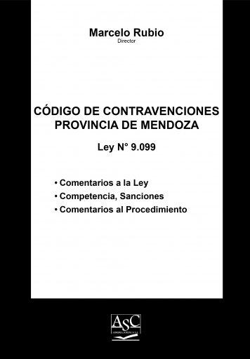 Código de Contravenciones de la Provincia de Mendoza