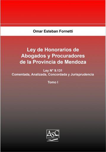 Ley de Honorarios de Abogados y Procuradores de la Provincia de Mendoza