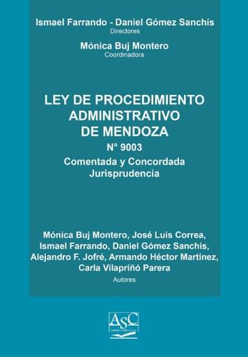 Ley de Procedimiento Administrativo de Mendoza - Comentado