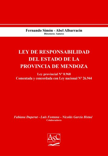 Ley de Responsabilidad del Estado de la Provincia de Mendoza