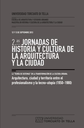2º jornadas de historia y cultura de la arquitectura y la ciudad