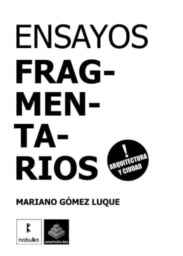 ENSAYOS FRAGMENTARIOS