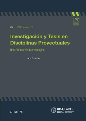 Investigación y tesis en disciplinas proyecturales