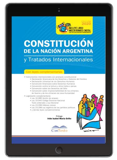 Constitucion de la Nacion Argentina y Tratados Internacionales