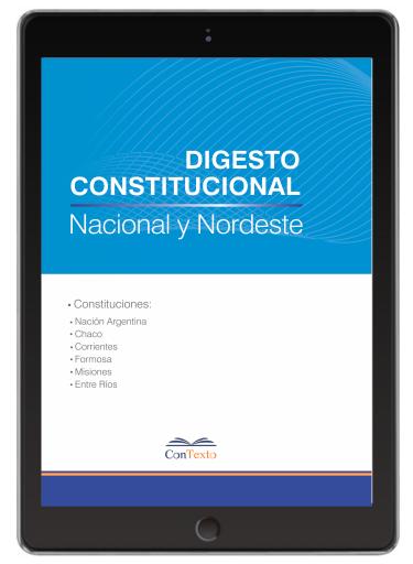 Digesto Constitucional del Nordeste