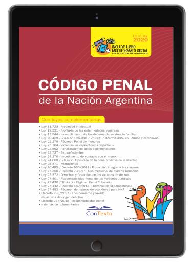 Código Penal de la nación 2020 con leyes complementarias