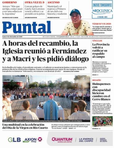Puntal RC 09 de diciembre de 2019