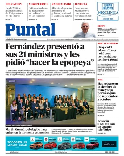 Puntal RC 07 de diciembre de 2019
