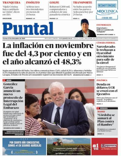 Puntal RC 13 de diciembre de 2019