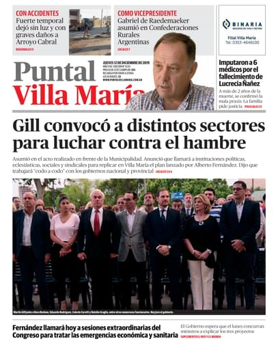 Puntal VM 12 de diciembre de 2019