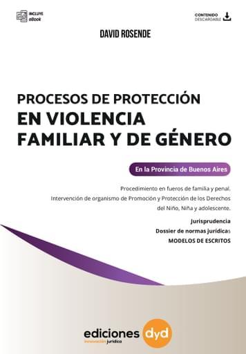 Procesos de Protección en Violencia Familiar y de Género - Ebook - David Rosende