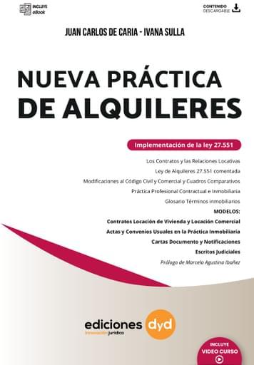 Nueva Ley de Alquileres  - De Caria - Sulla