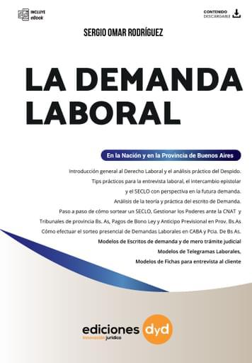 La Demanda Laboral - Sergio Omar Rodríguez
