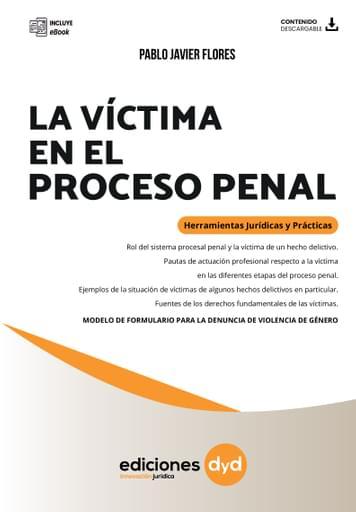 La Víctima en el Proceso Penal - Flores  9sep
