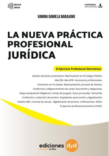 Nueva Práctica Profesional Jurídica - Vanina Babajano