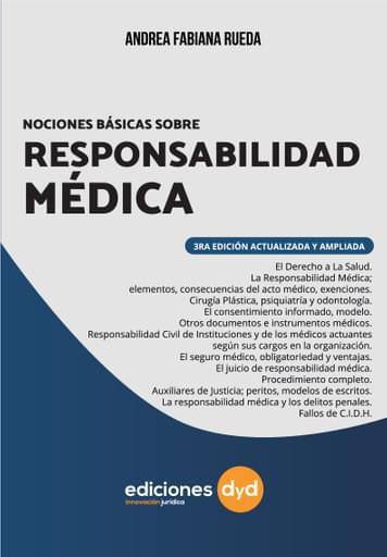 Nociones Básicas Responsabilidad Médica- Rueda