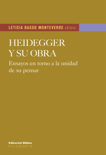 Heidegger y su obra