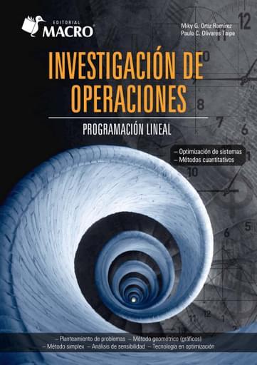 Investigación de Operaciones - Programación Lineal
