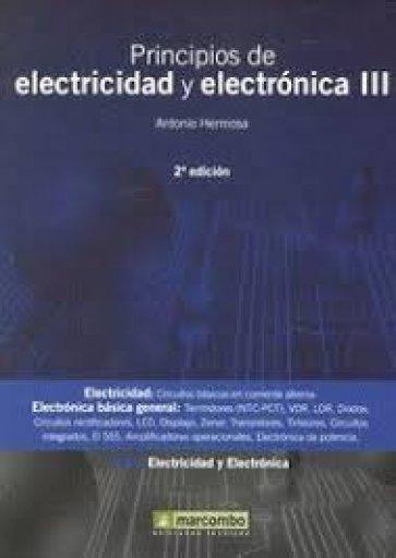 Principios de Electricidad y Electrónica TIII 2ªed.