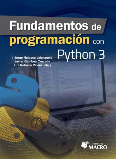 Fundamentos de Programación con Python 3