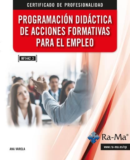 MF1445_3 Programación Didáctica de Acciones Formativas para el Empleo
