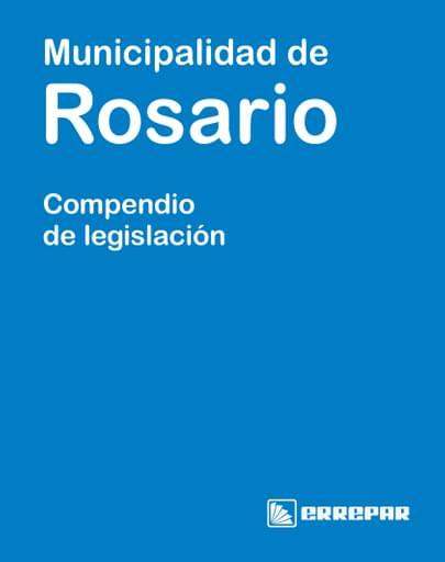 Separata de la Municipalidad de Rosario