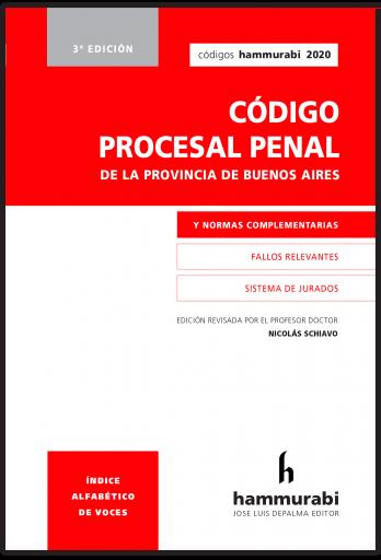 Código Procesal Penal BA