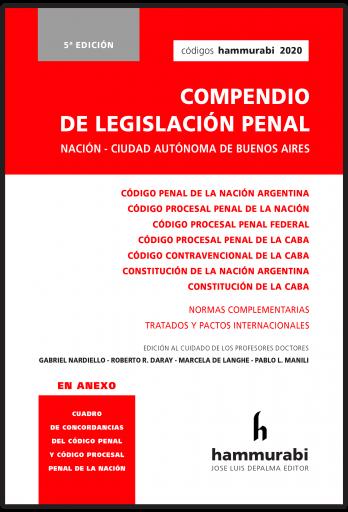 Legislación penal Nación - CABA