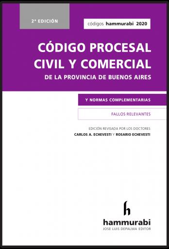 Código Procesal Civil y Comercial BA