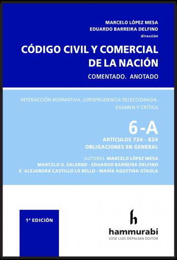 Código Civil y Comercial, t. 6A