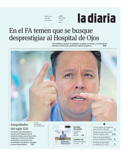 la diaria, lunes 09.12.2019