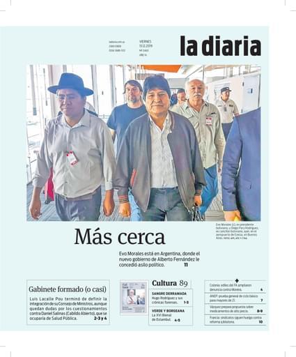 la diaria, viernes 13.12.2019