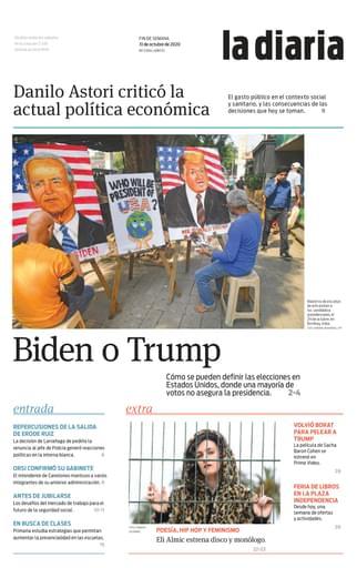 la diaria, sábado 31.10.2020