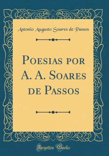 Poesias - A. A. Soares de Passos