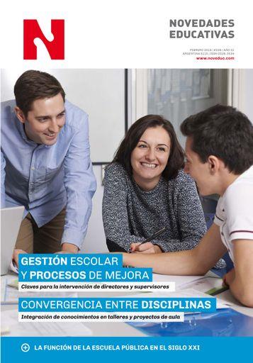 Febrero 2019 - Nº 338 - Revista Novedades Educativas