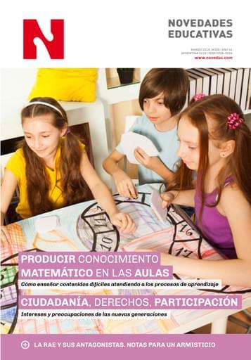 Marzo 2019 - Nº 339 - Revista Novedades Educativas