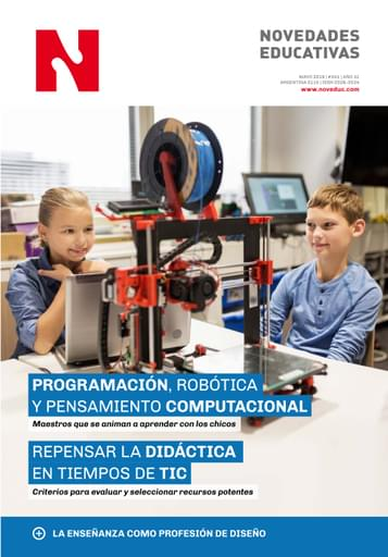 Mayo 2019 - Nº 341 - Revista Novedades Educativas