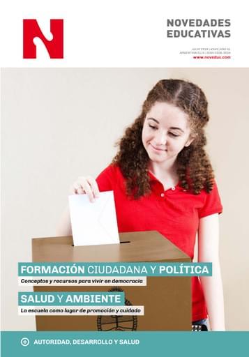 Julio 2019 - Nº 343 - Revista Novedades Educativas