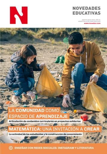 Agosto 2019 - Nº 344 - Revista Novedades Educativas