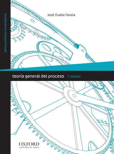 Teoría general del proceso, 7a edición