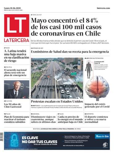 01-06-2020 La Tercera