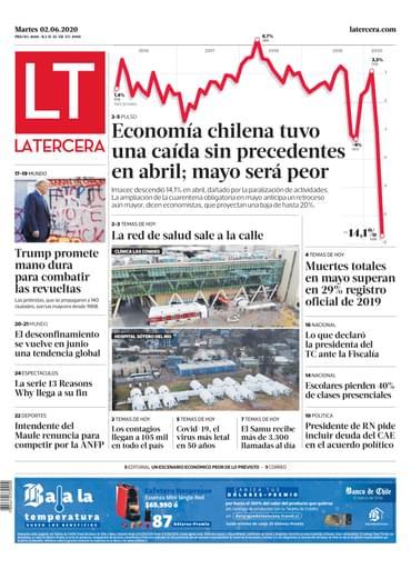 02-06-2020 La Tercera