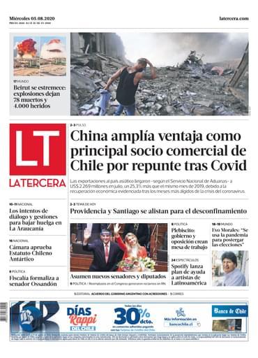 05-08-2020 La Tercera