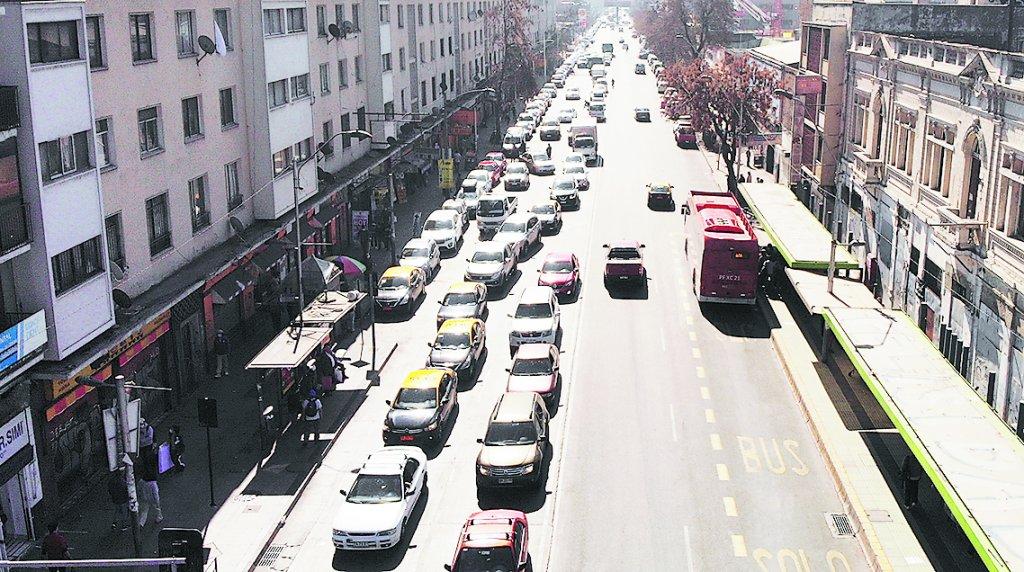 La capital registró un aumento en los tiempos de viaje esta semana en diversas comunas.